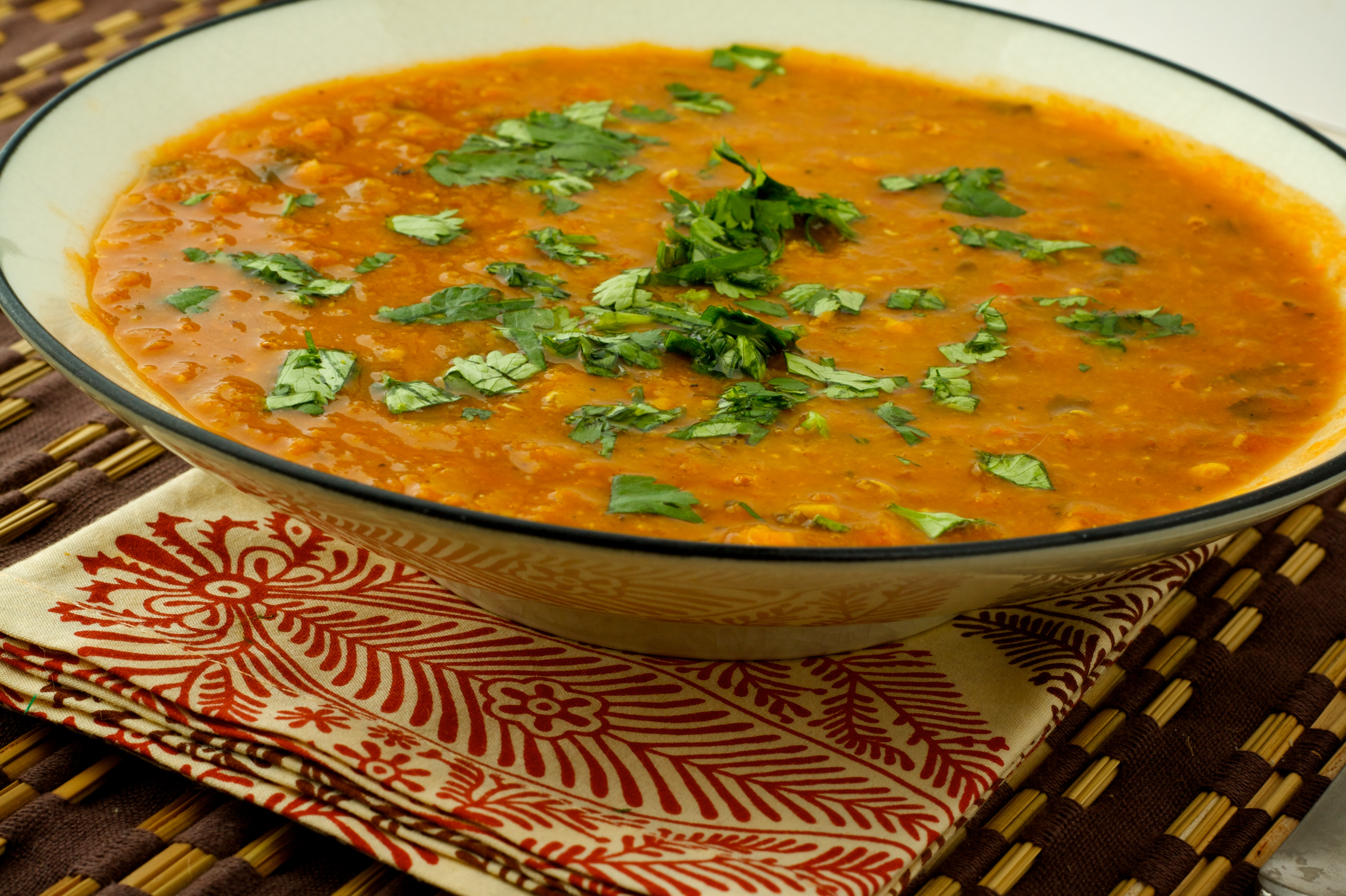 Bbc Good Food Spiced Carrot And Lentil Soup