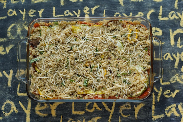 """Layered Quinoa """"Ratatouille"""": A Post in Pictures   Spoon With Me"""