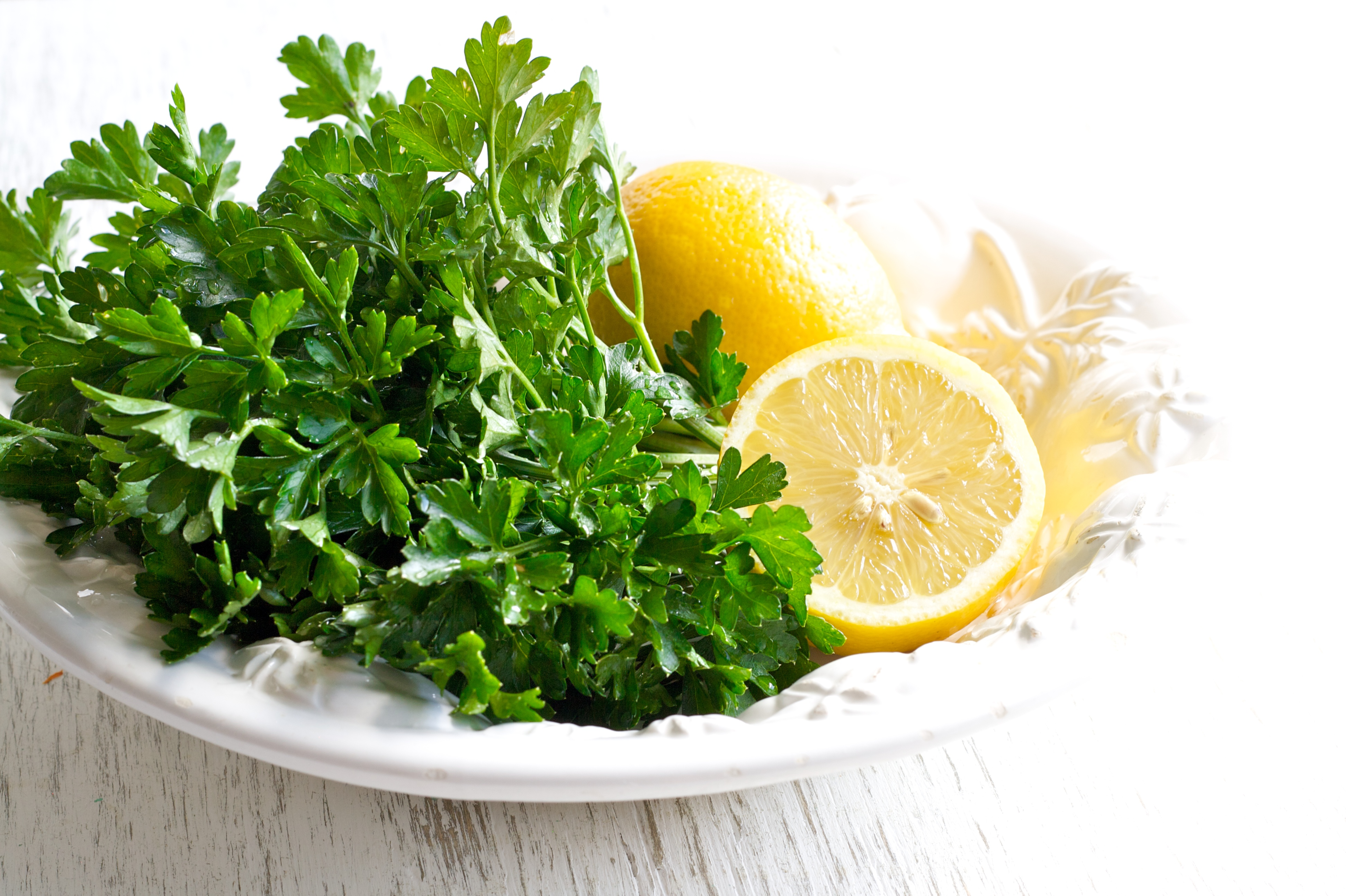 Image result for lemon and parsley