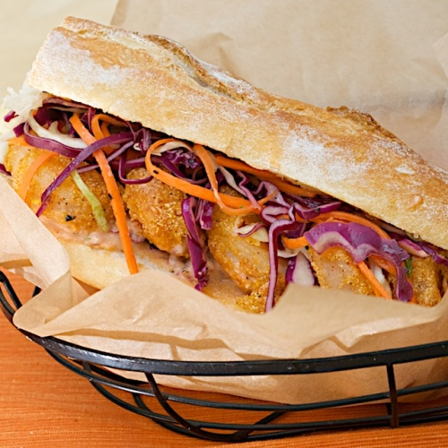 Tasty Shrimp Po Boy