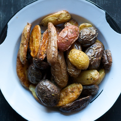 Spoonwithme|Roasted Fingerling Potatoes