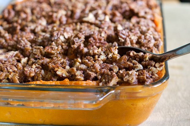 Maple-Whipped Sweet Potatoes with Bourbon-Glazed Pecans | Spoon With ...