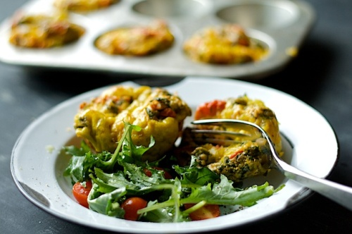 Kale potato mini-frittatas|Spoonwithme-com (1)