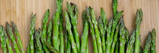 Midnight Asparagus With Creamy Eggs Recipe — Dishmaps