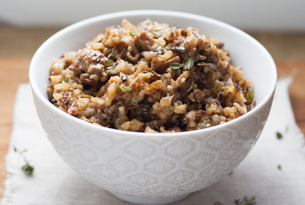 Wild Mushroom Wild Rice | Spoonwithme.com-10