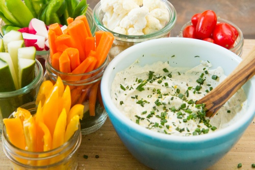 Vegan Herby Sour Cream Dip at Spoonwithme.com (1 of 1)-8