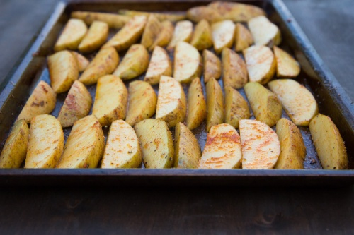 BBQ Roasted Potato Wedges @ Spoonwithme.com (1 of 1)-4